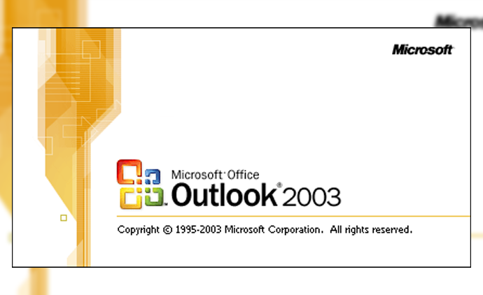 Outlook 2003 e-Mail Kurulumu